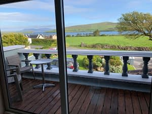 Balcony Lounge at Cill Bhreac House